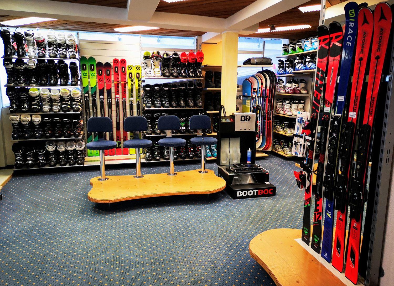 Ski und Schuh Verkauf