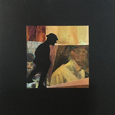 Carmen 1 - Clin d'oeil à Henri de Toulouse Lautrec / 2018 / 30 x 30 cm  / 90€