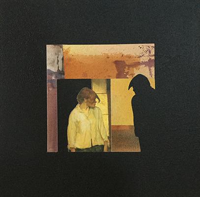 Carmen 3 - Clin d'oeil à Henri de Toulouse Lautrec / 2018 / 30 x 30 cm  / 90€