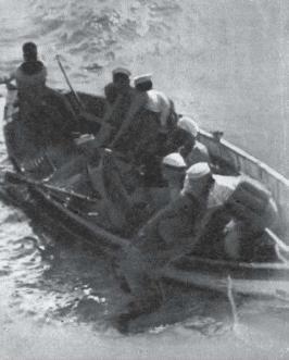 Dal settimanale il Tempo 31 gennaio 1953 marinai portoghesi salvano un naufrago