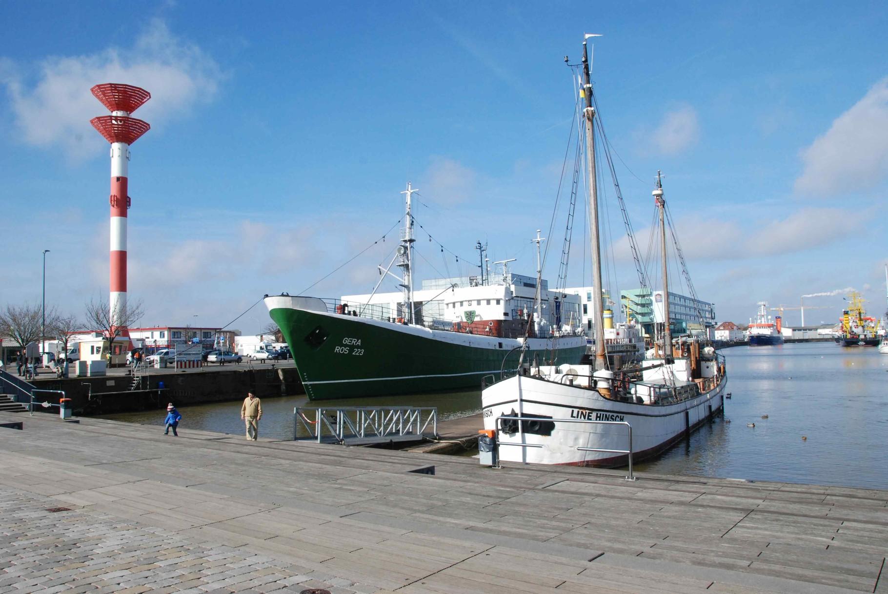 das Fischereihafengelände
