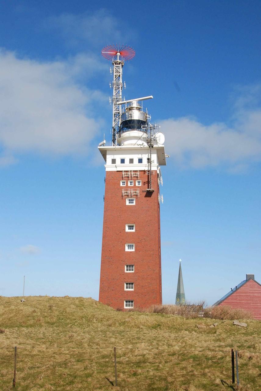 der Leuchtturm auf Helgoland