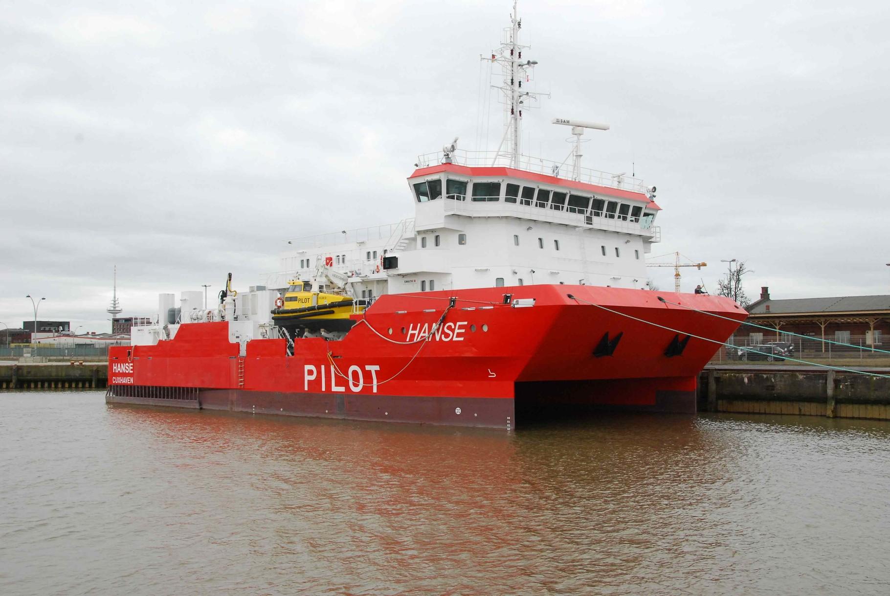 das Forschungsschiff Pilot