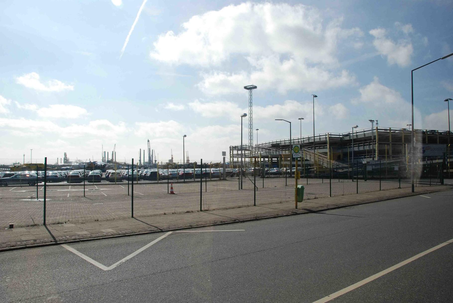 Rundfahrt im Hafengelände