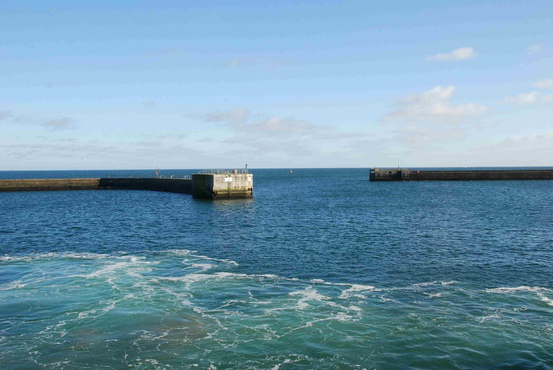 Hafenneinfahrt
