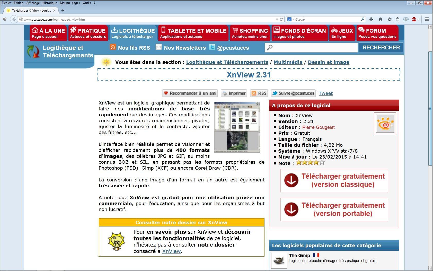 télécharger xnview gratuit