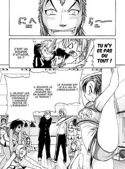 Extrait du manga Go ! Tenba cheerleaders! Source:http://www.bdtheque.com/main.php?bdid=8047&action=4