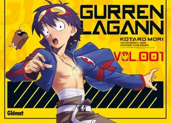 Gurren Lagann contient plusieurs genres dont le Mecha. source:http://www.glenatmanga.com/gurren-lagann-tome-1-9782723478137.htm