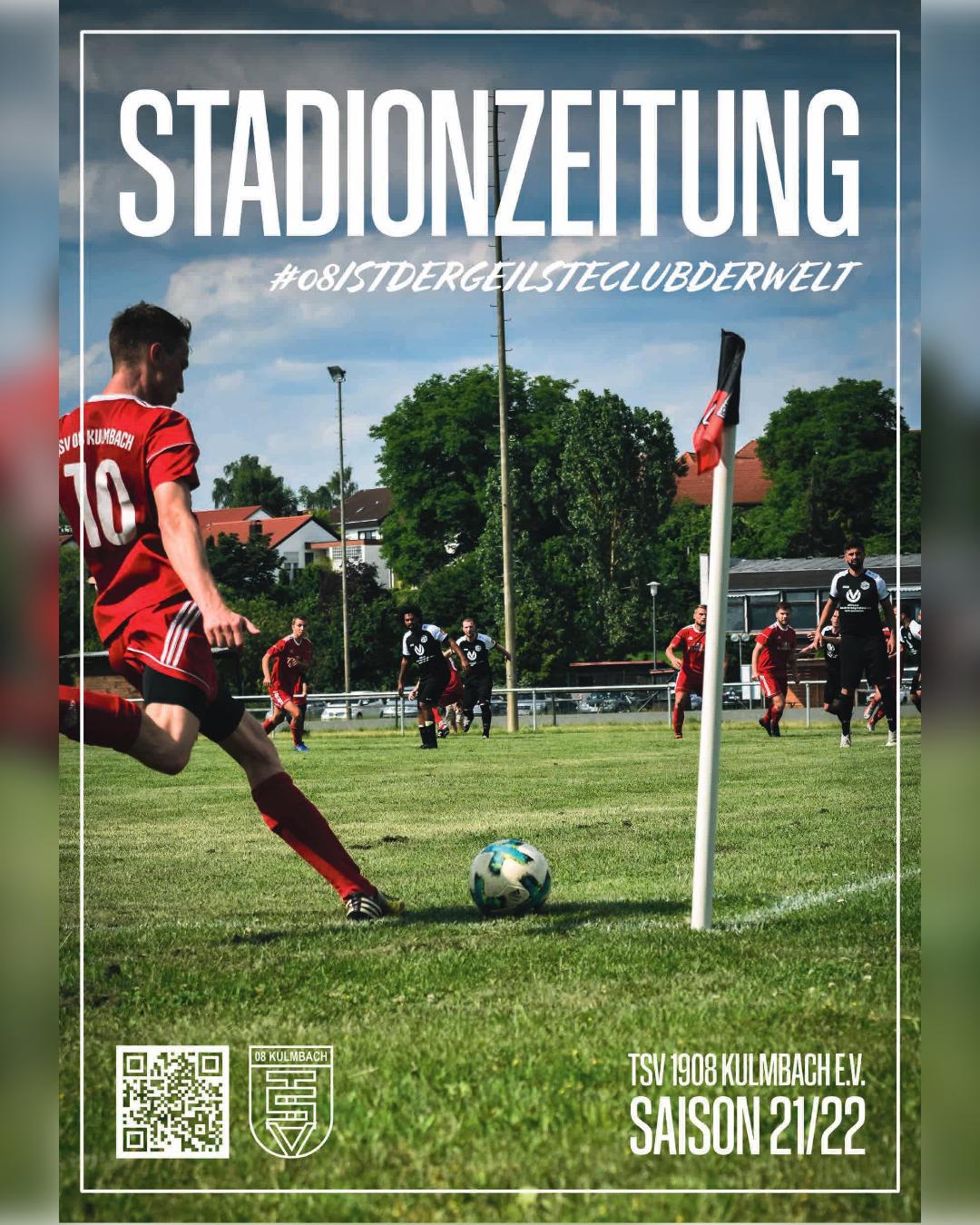 Stadionzeitung gegen Sportring Bayreuth