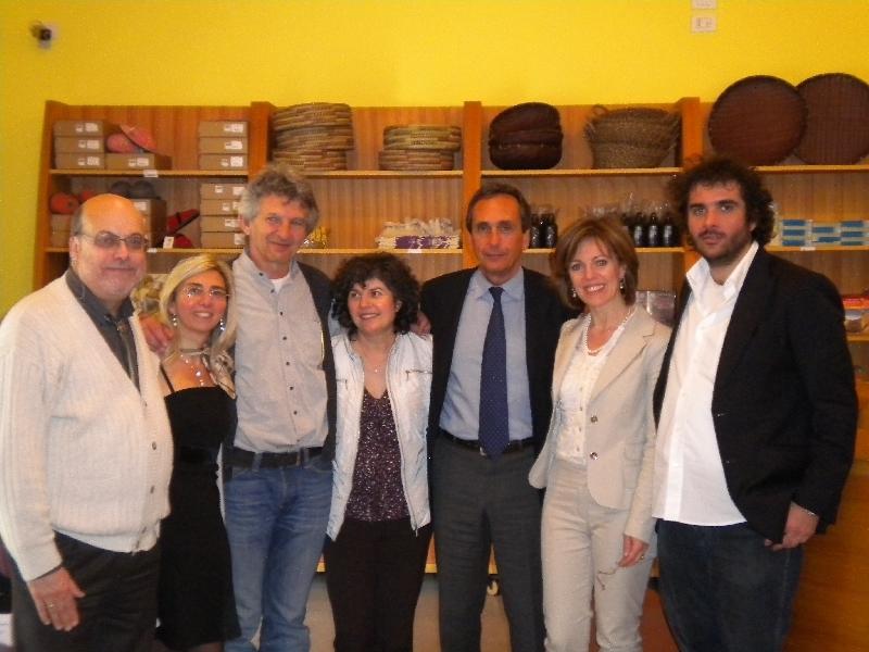 Gruppo con Franco Torcellan ANSAS Veneto