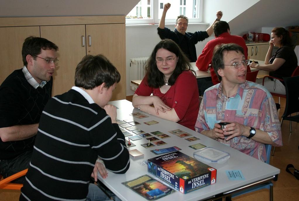 Die verbotene Insel auf dem 1. Pankower Spielefest