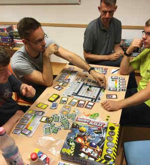 Robo Rally auf dem Pankower Spielefest