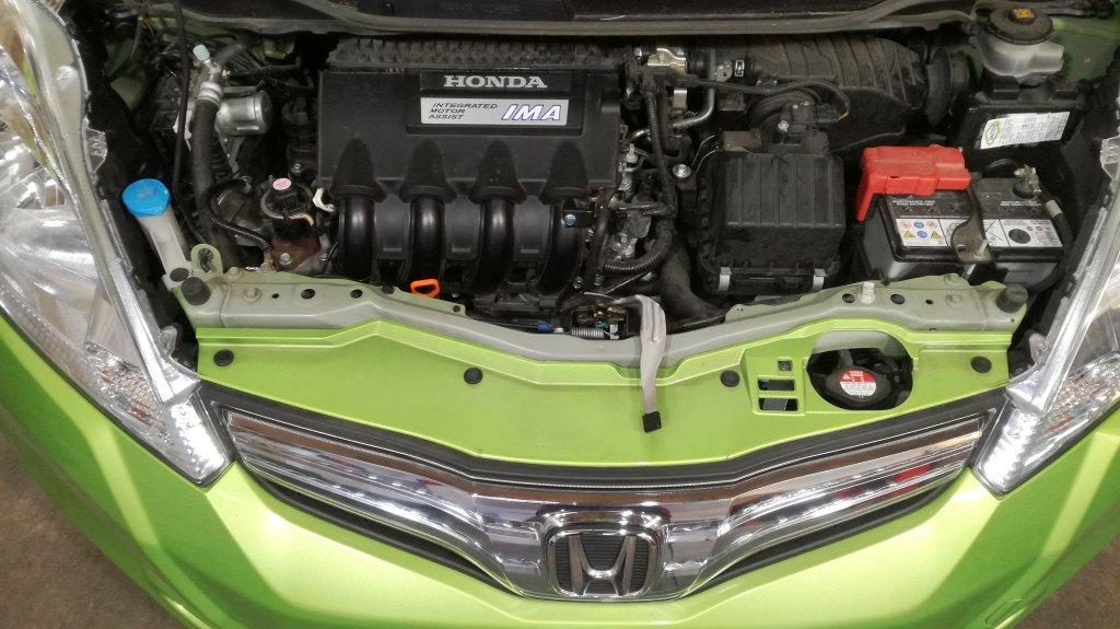 Honda Jazz hybride - E85