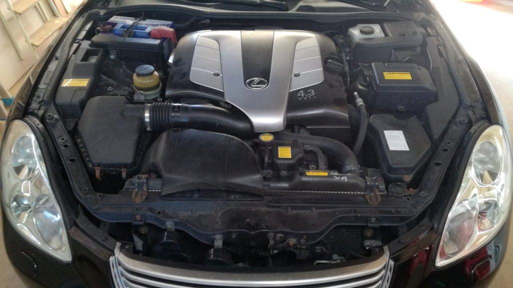 Lexus SC430 V8 - E85