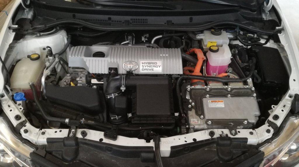 Toytota Auris Hybride - E85