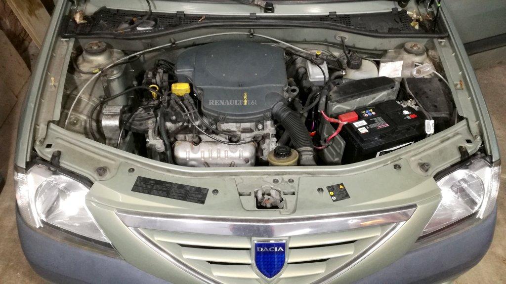 Dacia Logan MCV I - 1.6  90 cv - E85