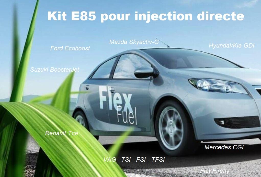 Kit E85 pour injection directe