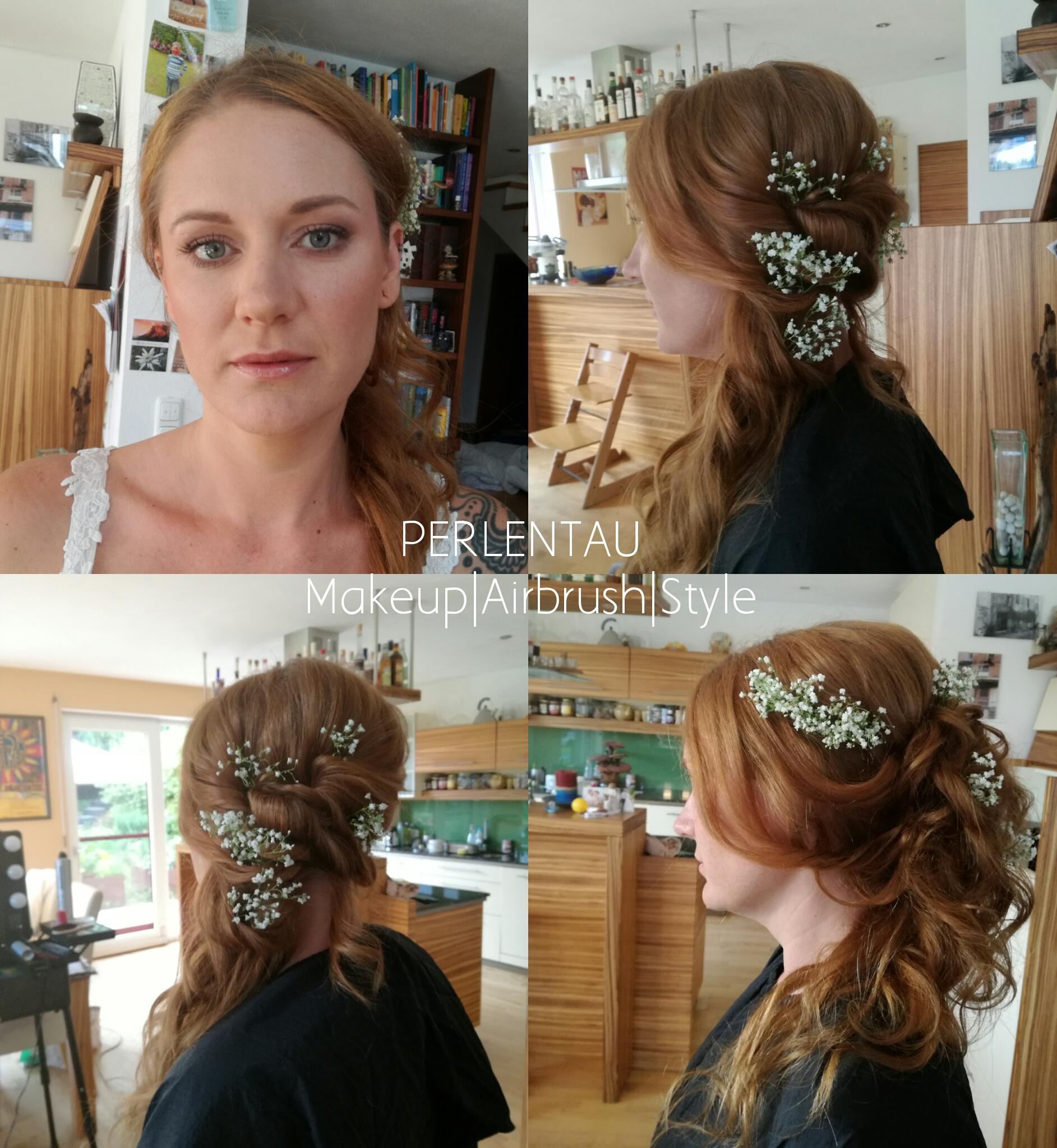 natural bohemiam style - Brautprobe