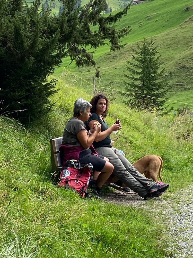 Nicole und Annemarie