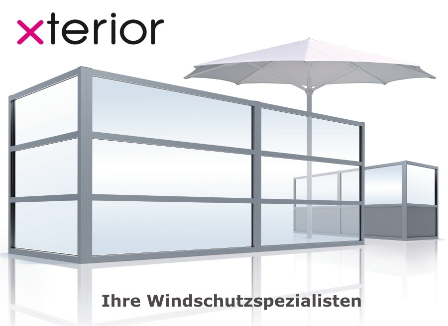 windschutz f r ihre terrasse gastronomie windschutz. Black Bedroom Furniture Sets. Home Design Ideas