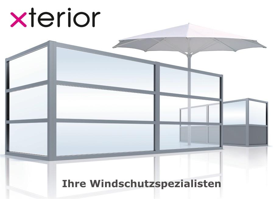 Windschutz Gastronomie
