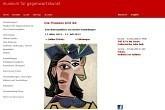 Kunstmuseum in der City von Basel