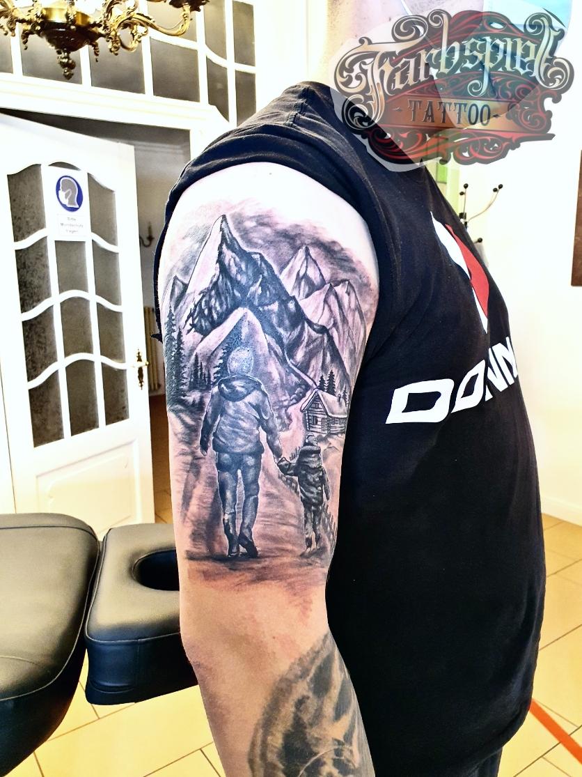 Bergweg tattoo