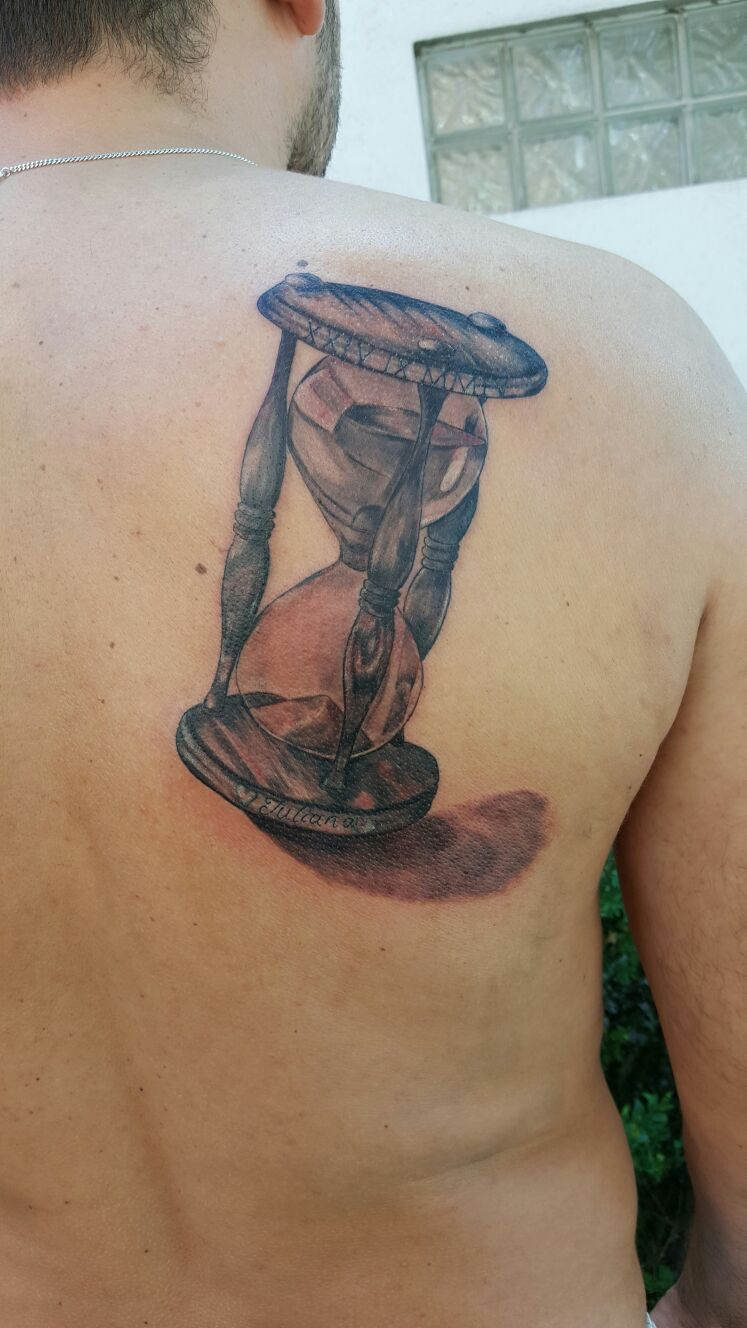 Sanduhr Tattoo