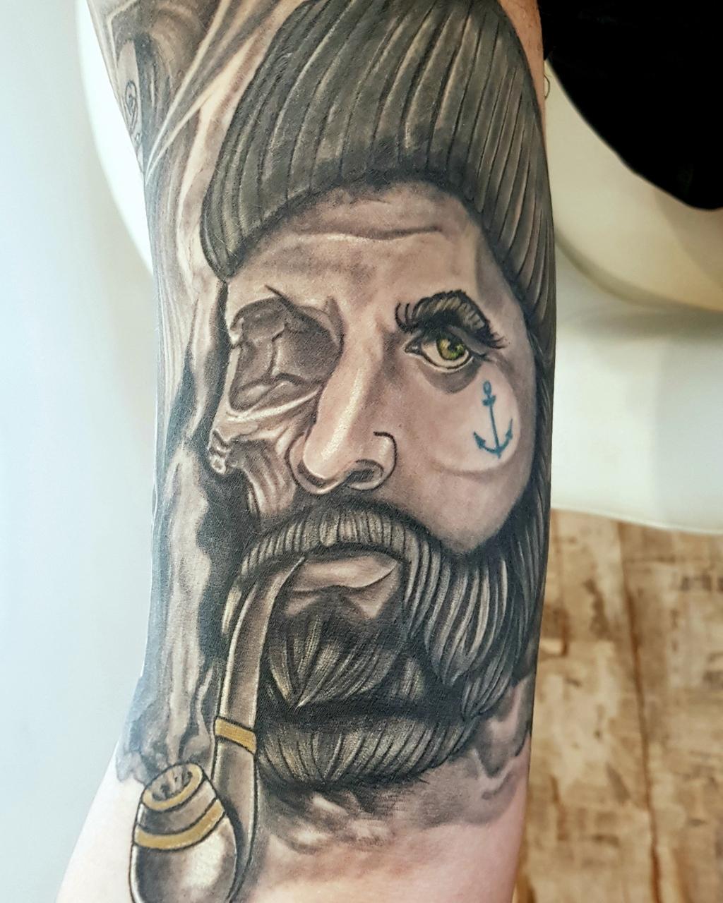 Seemannskull Tattoo
