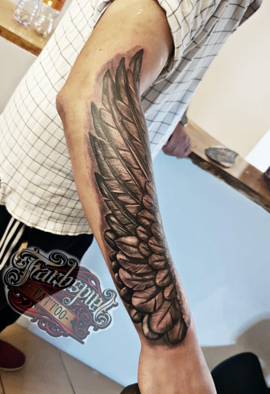 Flügel tattoo