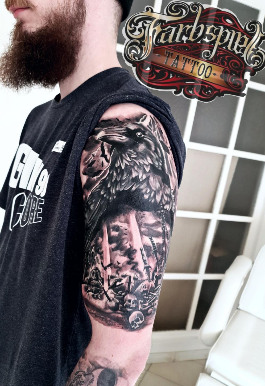 Raben Design tattoo
