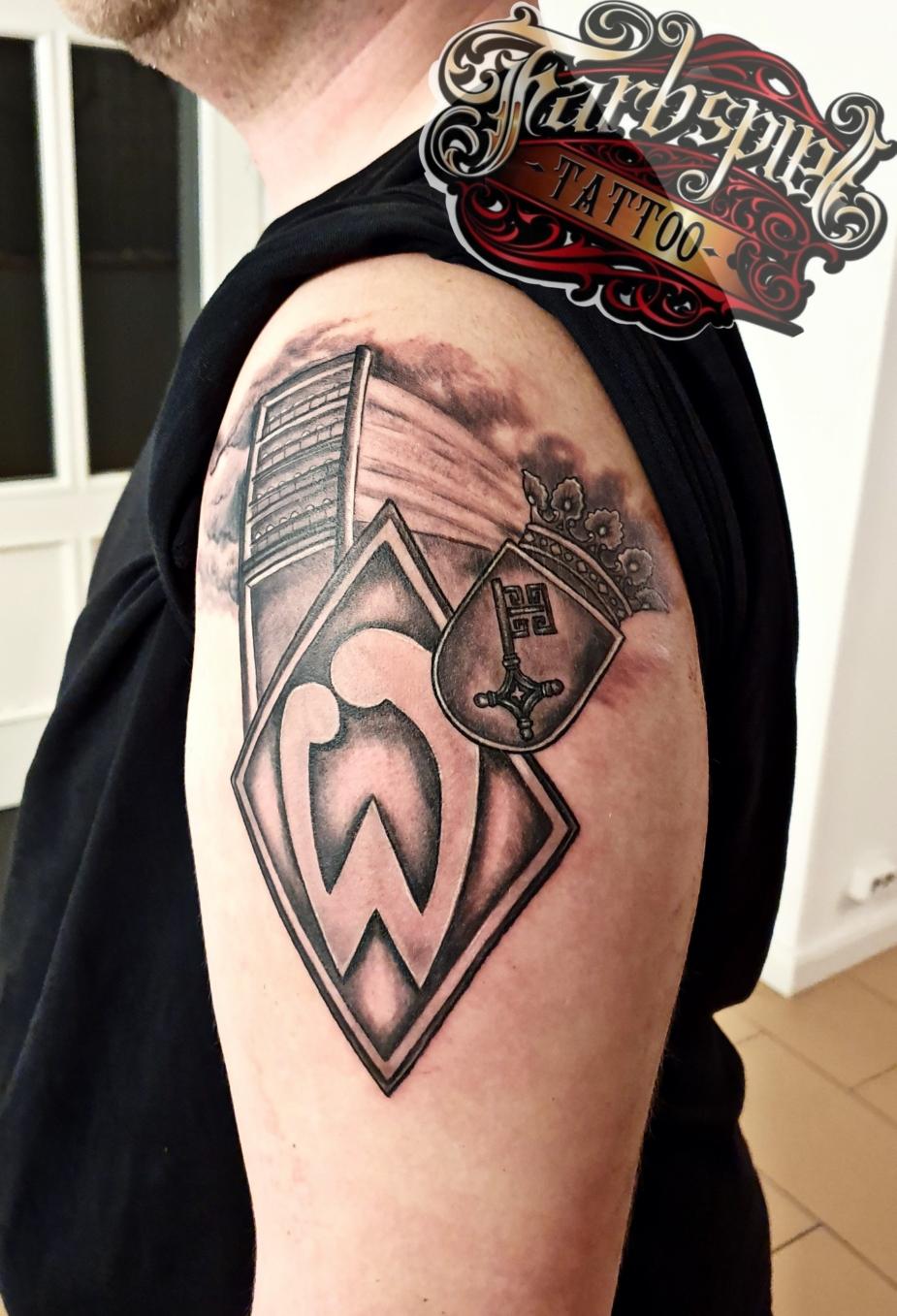 Werder Bremen tattoo
