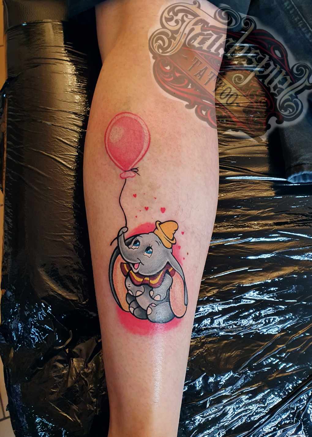 Disneys Dumbo tattoo