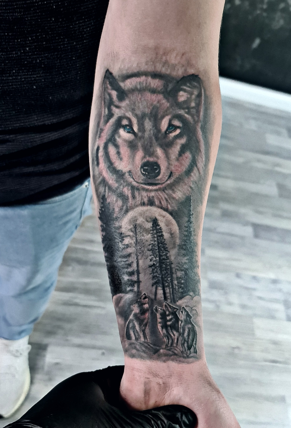 #wolftattoo