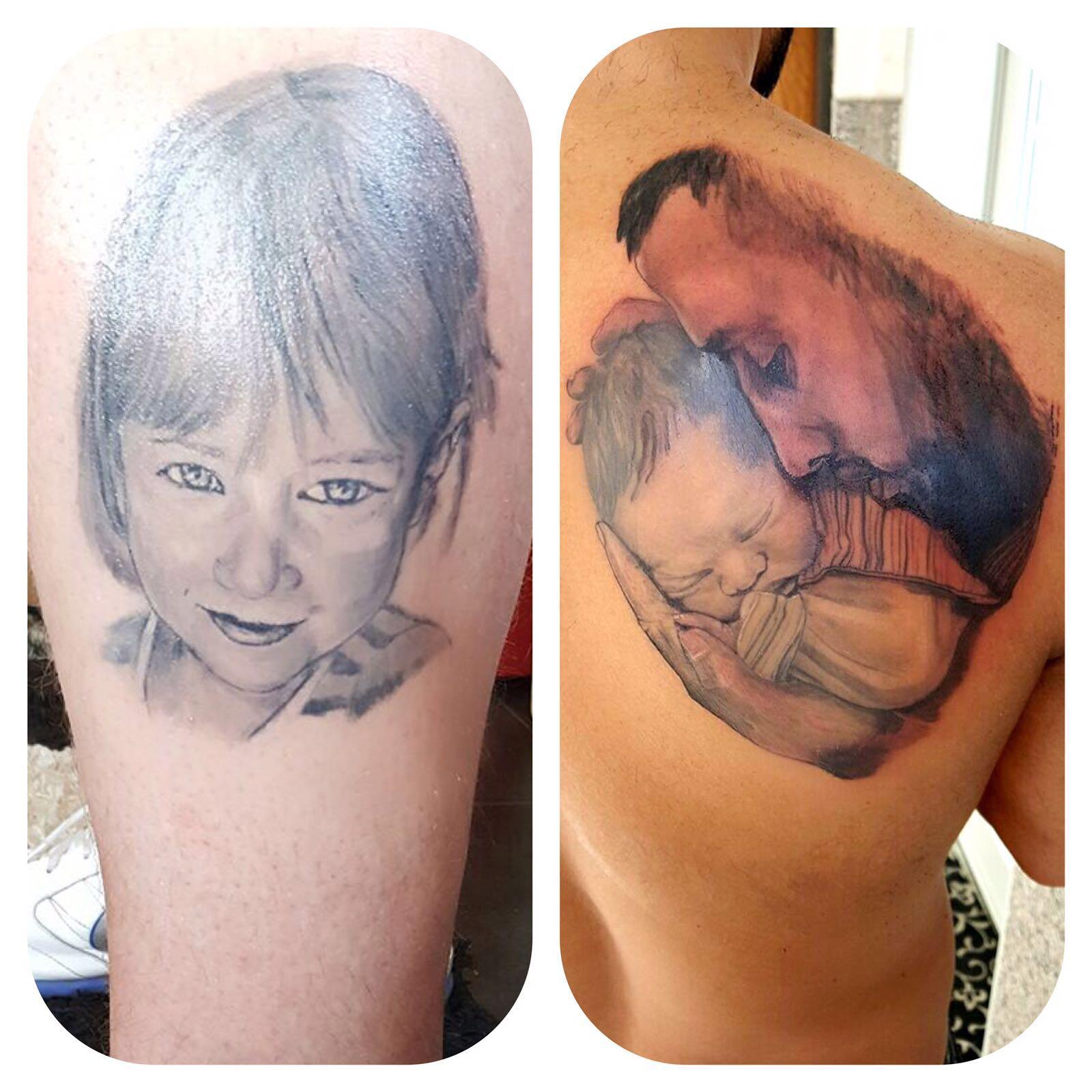 Kinderportraits Tattoo
