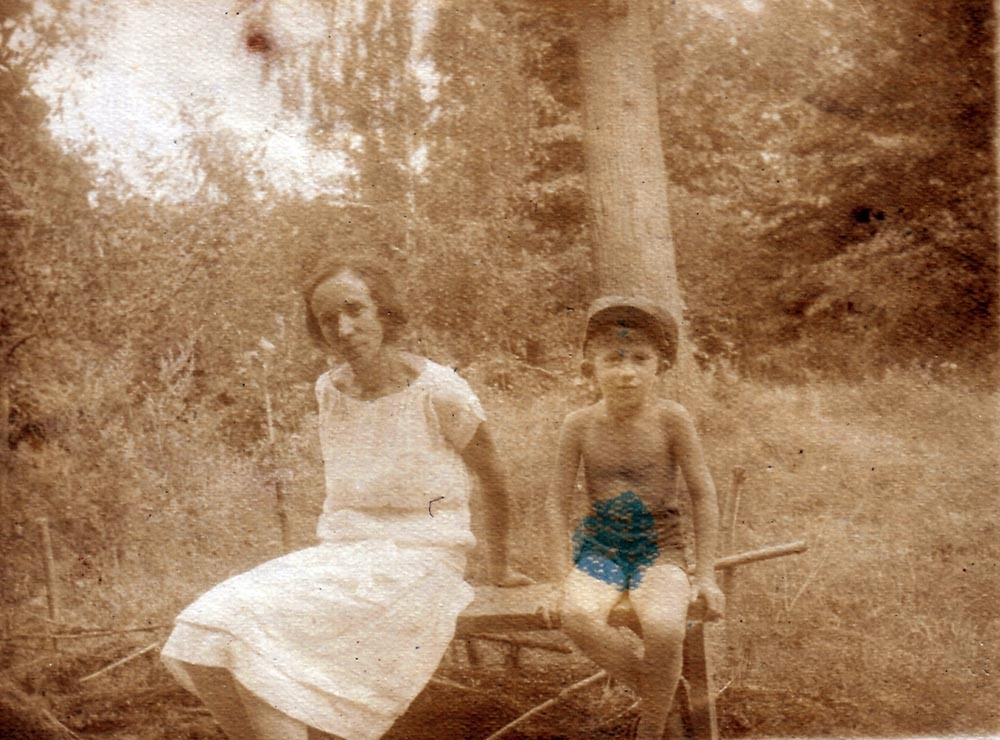 Raissa and Mirik. Kiev, 1928