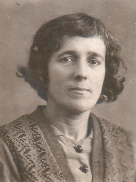 Раиса Кожевина. Киев, 1930-е - 1940-е годы.