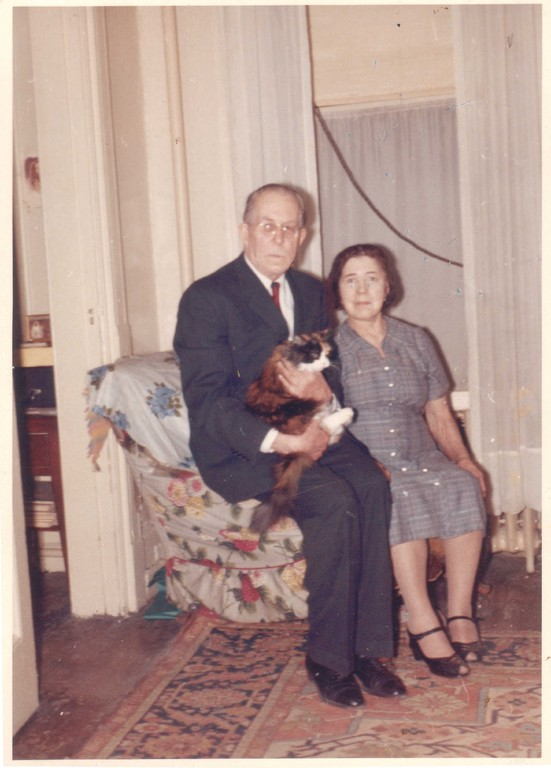 Константин и Алина Кожевины. Нью-Йорк, 1960-е гг.