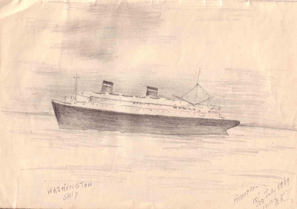 Washington Ship. 29.07.1949 г.