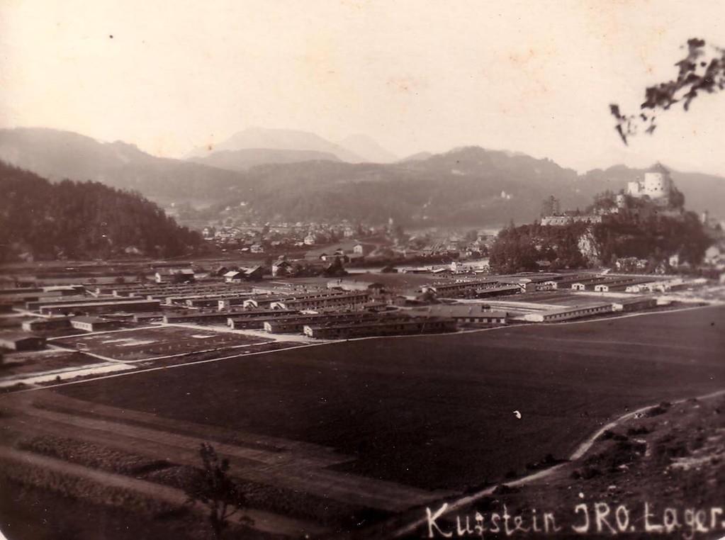 Лагерь для перемещенных лиц в Куфштайне, 1945-49 гг.