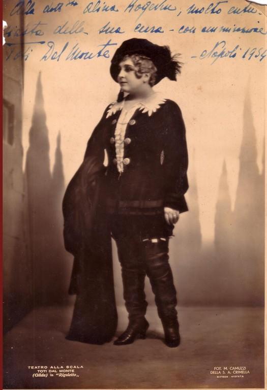 Toti del Minte, the Italian singer