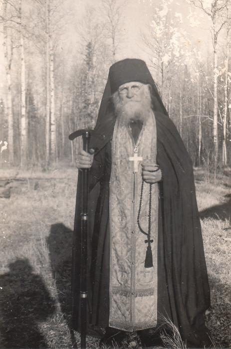 Игумен Амвросий Коновалов. 1960 г.