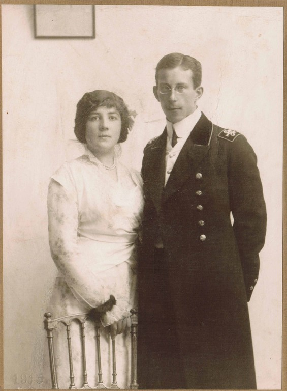 Alina and Constantin Kogevin. September, 1915
