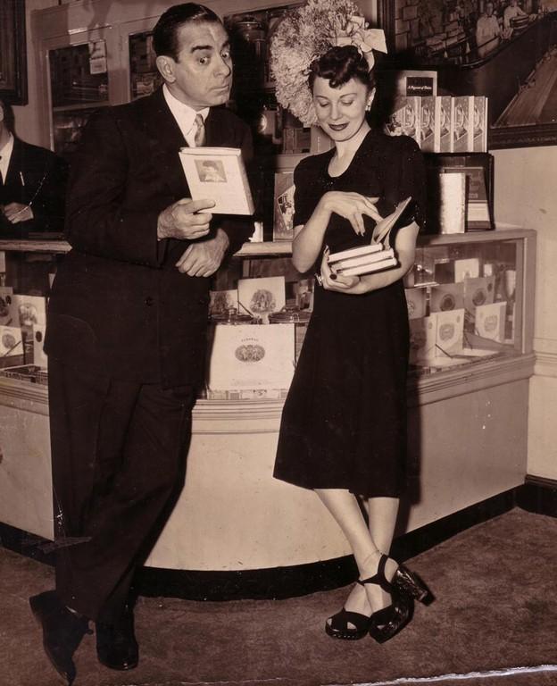 Жан-Пол Гетти, амер. миллиардер с женой