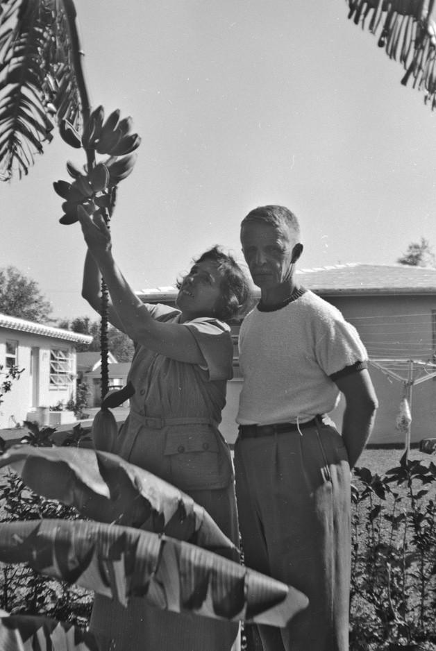 Раиса и Евгений Кожевины. Майами, 1952 г.