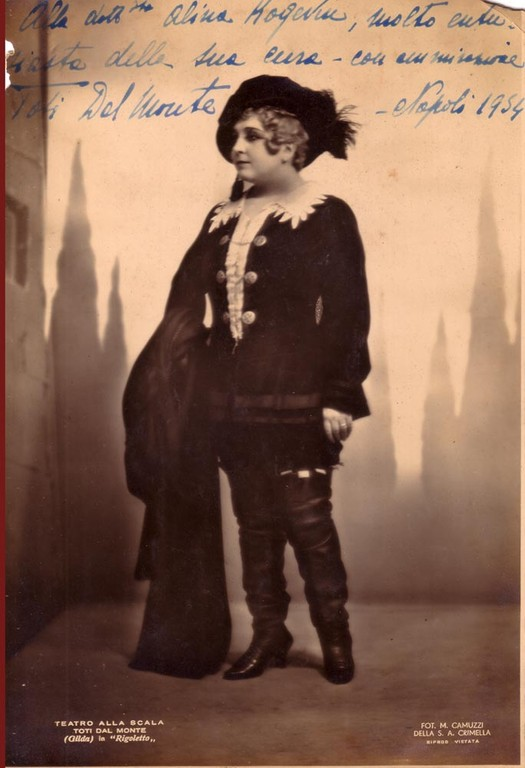 Тоти дель Монте, итальянская певица