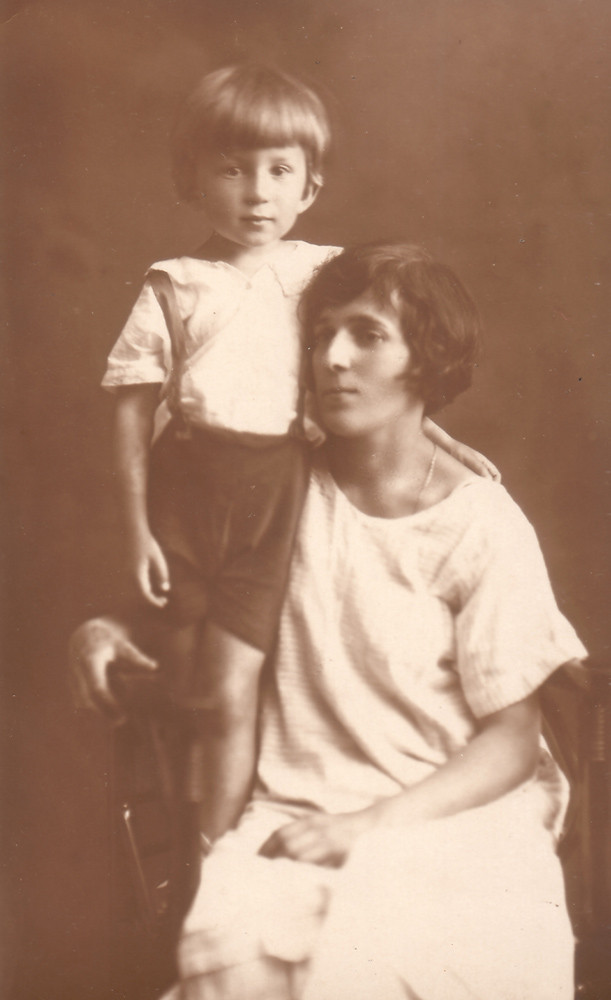 Raissa and Mirik. Kiev, 1926