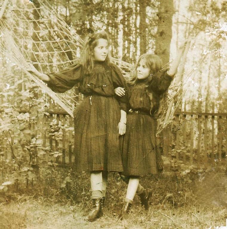 Нина и Раиса Брешко-Брешковские