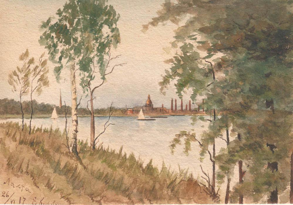 Лахта. 1917 г.