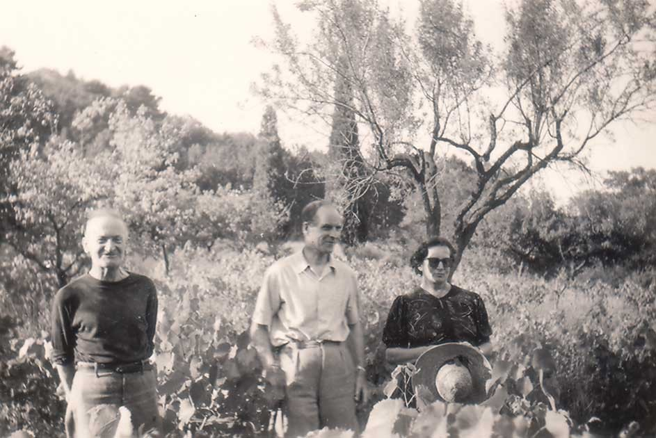 M. and L. Androusovitch. The South of France, summer 1952.